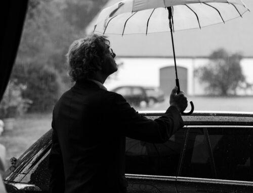 Regenhochzeit