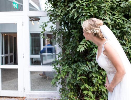 Erste Begegnung als Brautpaar